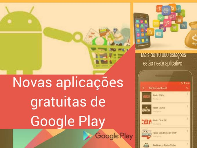 Novas apps gratuitas de Google Play