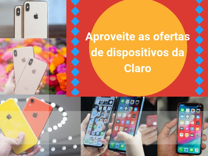 Aproveite as ofertas de dispositivos da Claro